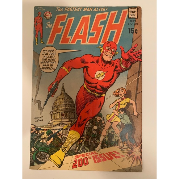 The Flash Special No. 200 - Fastest Man Alive! DC